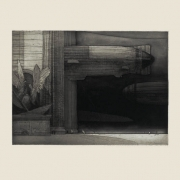 Epilogue, etching and aquatint on paper, 1998