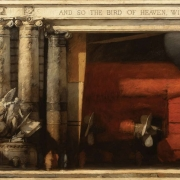 "Epilogue II, 60"" x 84"", oil on canvas, 1997"