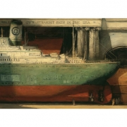 Freighters, giclee, 2012