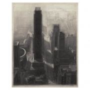 New York Cityscape, giclee, 2012