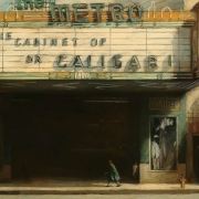 "The Metro, 54"" x 84"". oil on canvas, 1992"